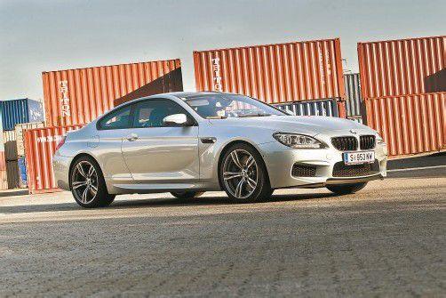 Beneidenswert attraktives Coupé mit 560 PS unter der Haube. Der M6 kombiniert Luxus und High-Performance. Fotos: VN/Steurer