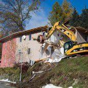 Haus in Osttirol wird nach Hangrutsch abgerissen