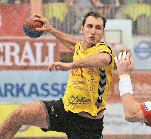 Bregenz-Legionär Drasko Mrvaljevic hatte mit acht Treffern großen Anteil am 31:27-Erfolg von Montenegro in Deutschland. Foto: vn/Stiplovsek