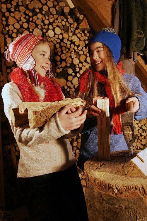 Brennholz verteuerte sich im Jahresstand um 1,4 Prozent. Foto: VN/Berchtold