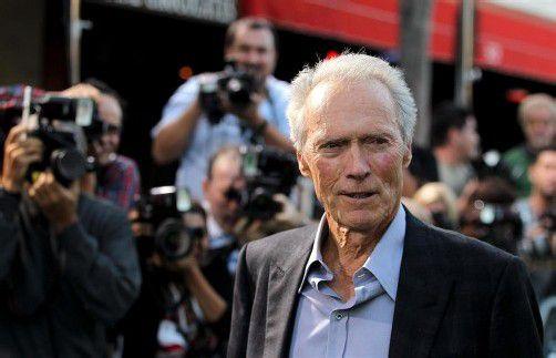 Clint Eastwood habe seinen Ehering bereits abgelegt. Foto: AP