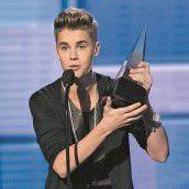 Justin Bieber triumphiert bei Music Awards