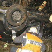 Auto stürzte im Galinawald 40 Meter ab