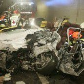 42-Jähriger nach Unfall im Tunnel schwer verletzt