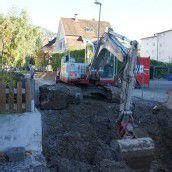 Arbeiten am Kanalnetz der Eisengasse