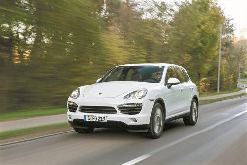Das Porsche-Erfolgsmodell Cayenne gibt es ab Jänner mit dem stärksten Diesel im Segment. Fotos: Werk