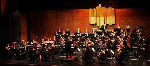 """Das Sinfonieorchester Liechtenstein spielt für """"Ma hilft"""". Foto: SOL"""