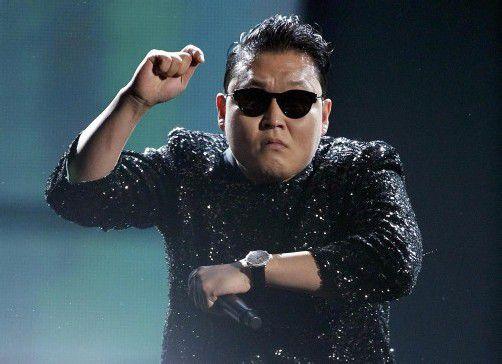 Das Video von Shootingstar Psy (34) wurde 805 Millionen Mal auf YouTube angesehen.