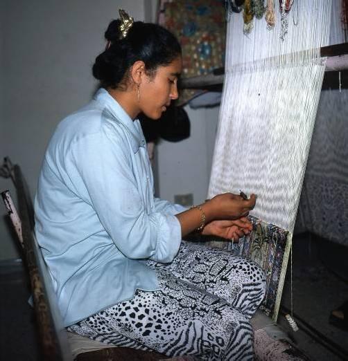 Der Besuch einer Teppichwerkstatt ist Pflicht. Foto: Castor