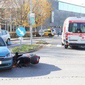 Autofahrerin übersah Moped