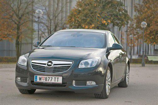 Der Opel Insignia mit Top-Diesel: Strotzendes Selbstbewusstsein, das auffällt. Fotos: vn/hartinger