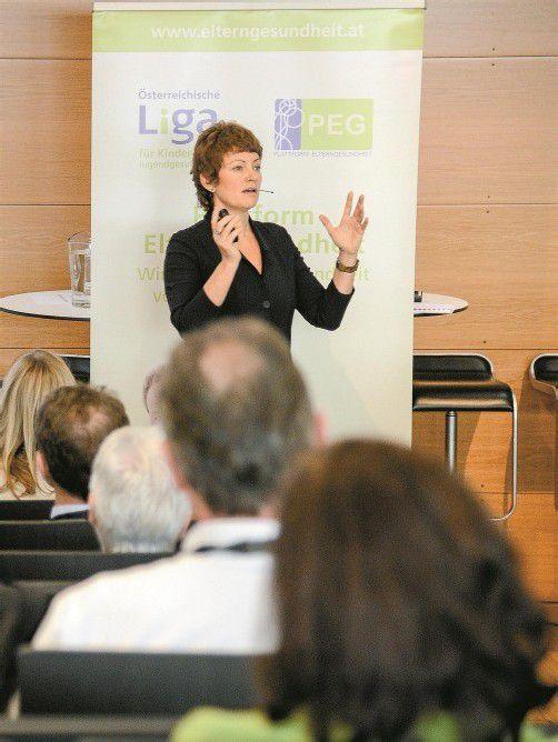 Der Rat von Hanni Rützler: Vielfalt in die kindliche Ernährung bringen. Foto: VN/Lerch