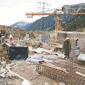Bauarbeiten am neuen Bauhof Gaschurn laufen