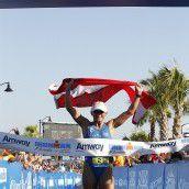 Van Vlerken gewinnt Ironman in Rekordzeit
