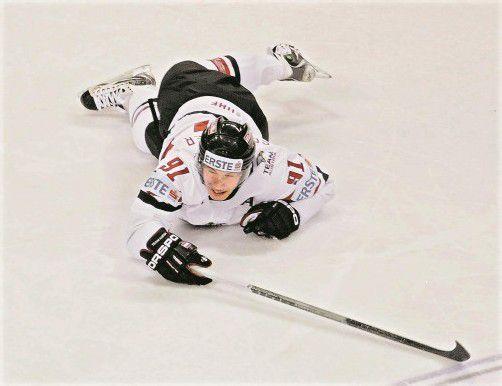 Der gefallene Star wurde pardoniert: Oliver Setzinger gibt heute beim Turnier in Laibach sein Comeback fürs österreichische Eishockey-Nationalteam. Foto: apa