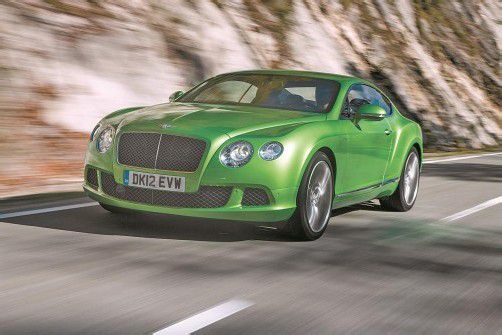 Der schnellste Serien-Bentley aller Zeiten erreicht ein Topspeed von 330 km/H. Fotos: werk