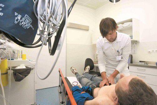 Die AEE verfügt über eigene Räumlichkeiten zur Abklärung von Patienten. Foto: VN/Paulitsch