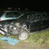 Verletzter bei Frontal-Unfall