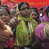 Bangladesch: Gewaltsame Proteste reißen nicht ab