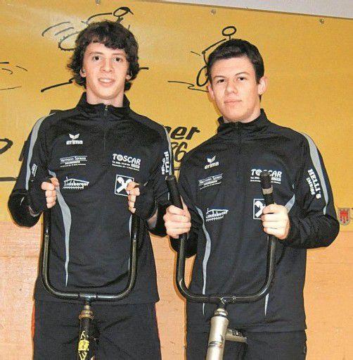 Die IBRMV-Meister Pascal Fontain (l.) und Patrick Köck. Foto: Verein