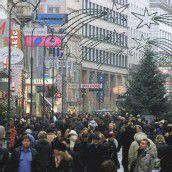 Einkaufsmeilen trotzen der Krise