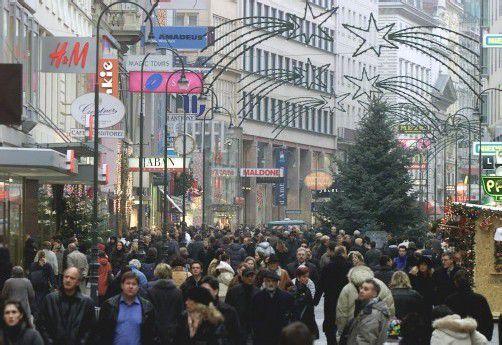 Die Kärntnerstraße in Wien ist die zweitteuerste Einkaufsmeile in Österreich. Teurer ist nur der Kohlmarkt. Foto: ap