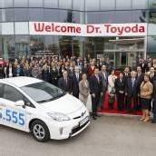 555.555 Toyotas nach Österreich importiert