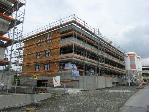 Die Wohnungen in Bregenz sollen im nächsten Jahr fertig werden.