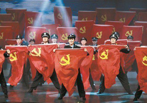Die chinesische Führung wirbt für den Parteitag der Kommunisten, bei dem ein Generationswechsel stattfinden soll. Foto: REUTERS