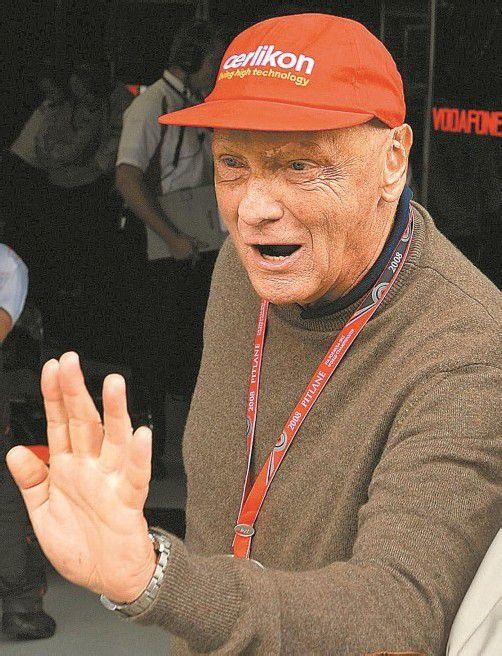 Die eigene Filmgeschichte hat ihn tief bewegt: Niki Lauda. Foto: ap