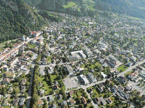 Die ganze Stadt ist Vision: Erst wenn die Hohenemser wissen, was sie für ihre Stadt in Zukunft wollen, wird ins Detail gegangen. In der Stadtplanung genauso wie in anderen Bereichen. Foto: Stadt Hohenems