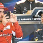 Muskelprotz Vettel entspannt