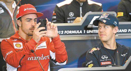 Die wichtigste Nachricht für Fernando Alonso: Wie schlage ich in São Paulo Sebastian Vettel? Foto: ap