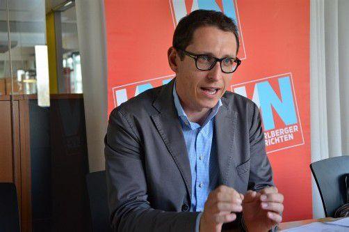 Dieter Bitschnau vertritt die Interessen von 3200 Mitgliedern. Foto: VN