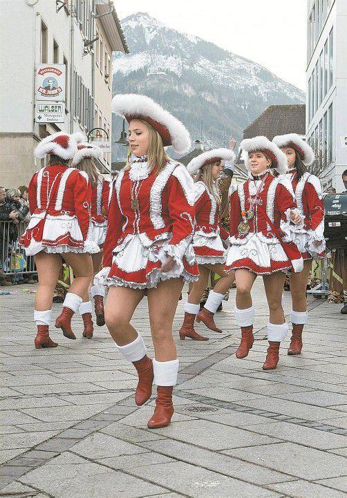 Dornbirner Umzüge haben lange Tradition. 2013 fällt das Spektakel aus. Foto VN