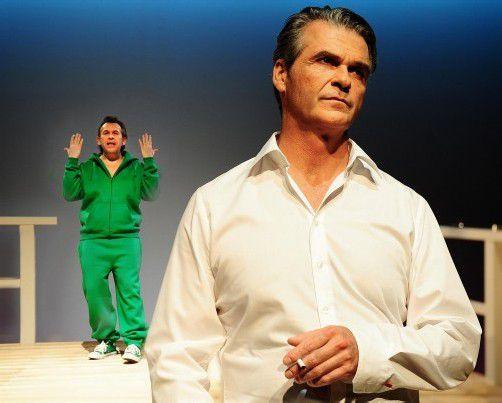 Einfach köstlich: Max und Robert in der Midlife-Crisis. foto: theater kosmos