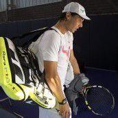Rafael Nadal steht wieder auf dem Tennisplatz