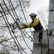 Es wird noch Wochen dauern, bis alle Stromleitungen wieder funktionieren.