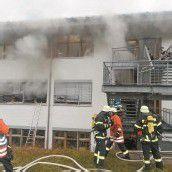 Brand in Behindertenwerkstatt: Erschüttert und fassungslos
