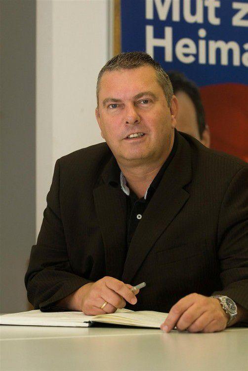 FP-Geschäftsführer Eccher steht im Visier der Opposition. Foto: VN