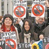 Protest gegen Fracking in Straßburg