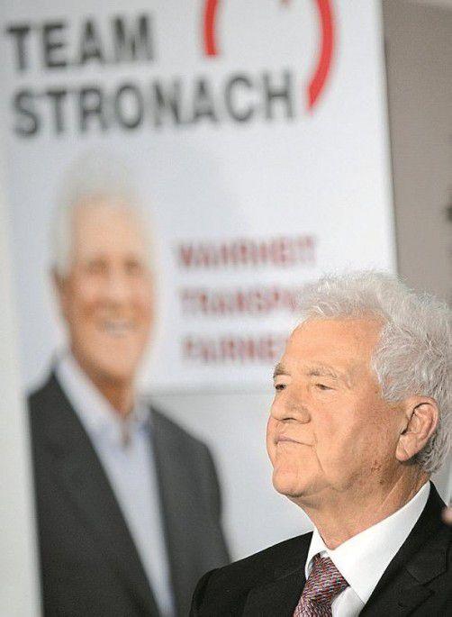 Frank Stronach hat einen ungebetenen Mitbewerber. Foto: APA