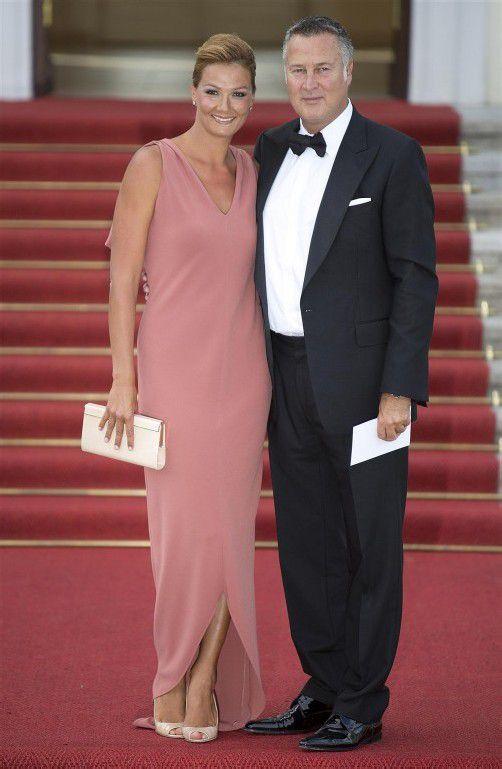 Franziska van Almsick und ihr Lebensgefährte Jürgen B. Harder haben einen fünfjährigen Sohn.
