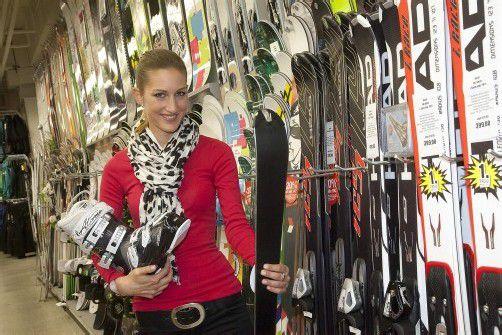 Für den Sportartikelhandel ist das Wetter wichtig. Foto: VN/paulitsch