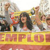 Europaweite Proteste gegen die Sparpolitik