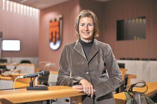 Gabriele Nußbaumer wird heute das Amt der Landtagspräsidentin übernehmen. Foto: VN/Steurer
