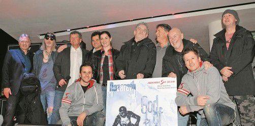 Gemeinsames Projekt: die ÖSV-Skistars und Nazareth. Foto: gepa