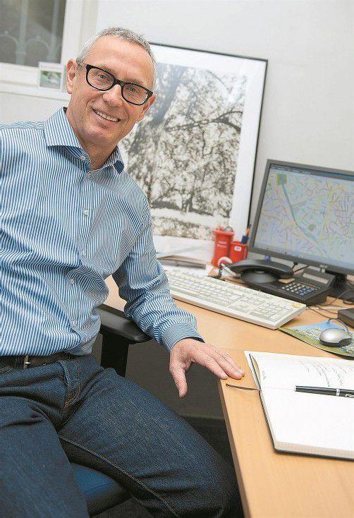Herbert Koschier arbeitet entschlossen an der Optimierung der Vorarlberger Abfallwirtschaft und Abfalllogistik. Foto: VN/Rhomberg