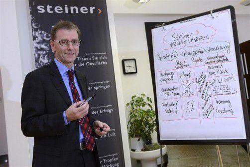 Herbert Steiner ist seit 21 Jahren Unternehmensberater aus Leidenschaft. Foto: Stiplovsek