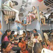 Bahn fahren auf indisch